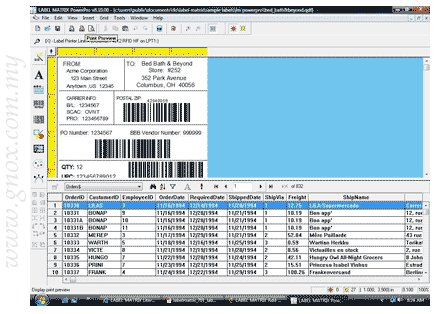 barcode label design. Barcode Label Design