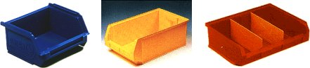 UNICA Stackable Multi-Purpose Storage Bins